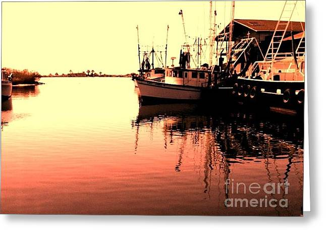 Greeting Card featuring the photograph Sunset by Janice Spivey