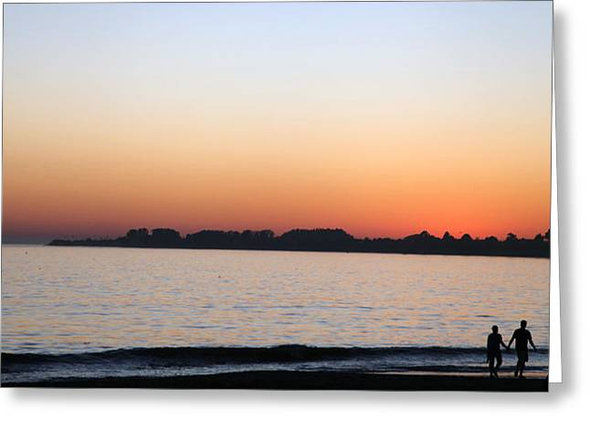 Sunset Greeting Card by Joe Fernandez