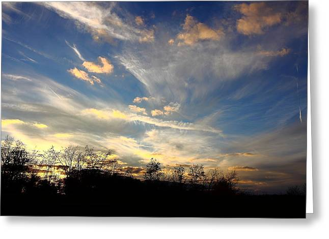 Sunset Magic Greeting Card by Kevin Schrader