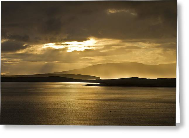 Sunset On Skye Greeting Card