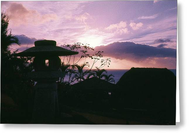 Greeting Card featuring the photograph Sunset Pupukea Oahu by Craig Wood