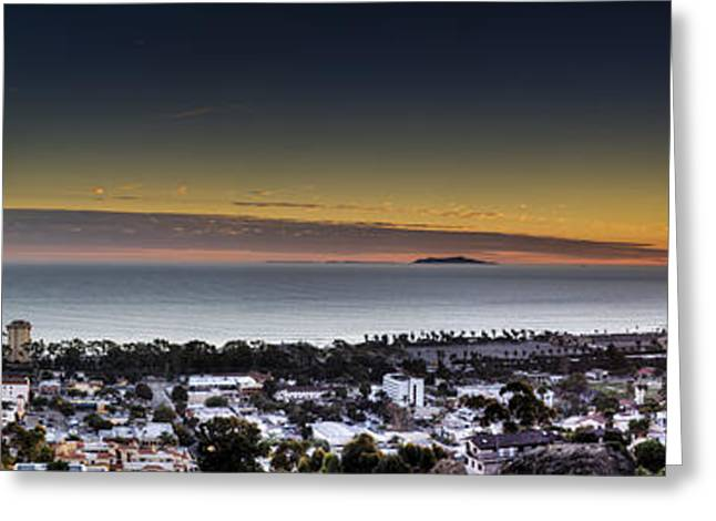 Sunset Ventura Ca Greeting Card by Joe  Palermo