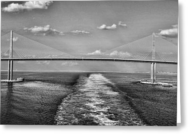 Sunshine Skyway Bridge Greeting Card