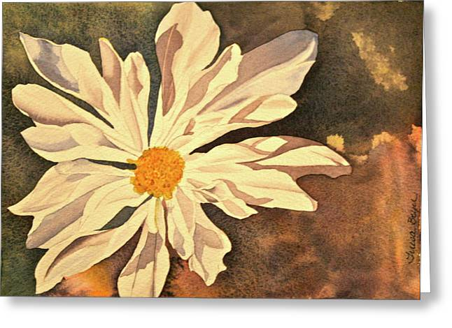 Greeting Card featuring the painting Sunshine by Teresa Beyer