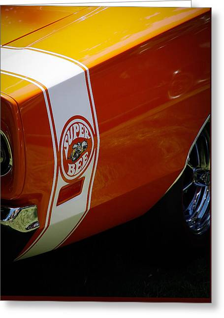 Super Bee Greeting Card by Steve McKinzie