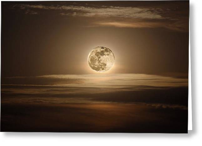 Super Moon Of 2012 Greeting Card