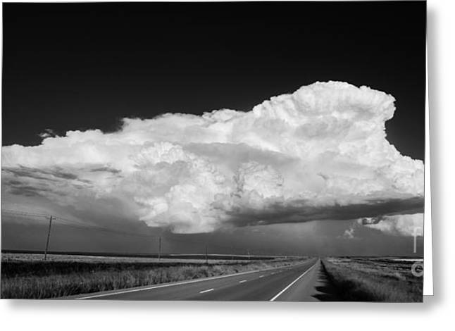 Supercell Greeting Card by Keith Kapple