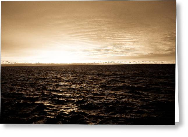 Superior Sunrise Greeting Card by Tim  Telep