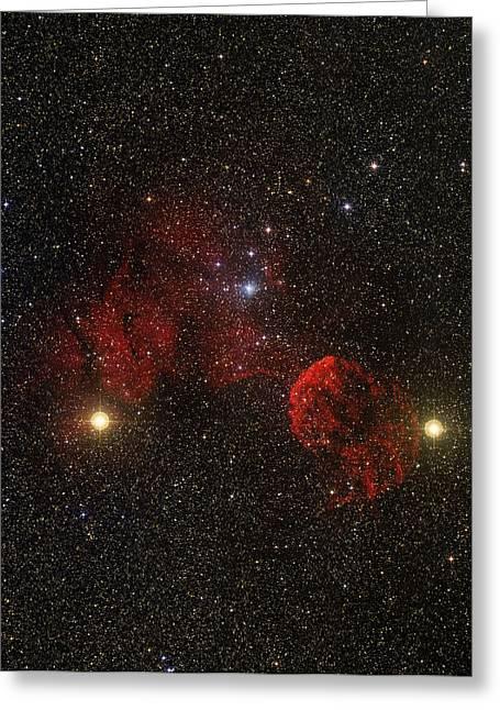 Supernova Remnant Ic 443 Greeting Card