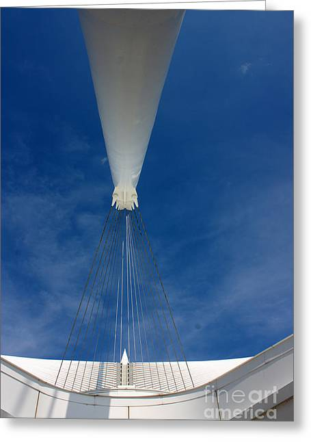 Support Beam Greeting Card by David Bearden