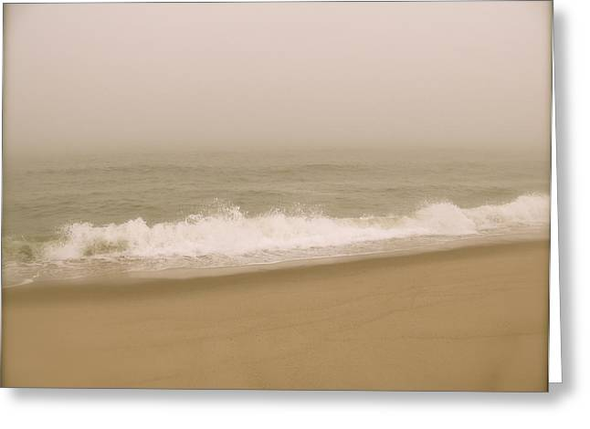 Greeting Card featuring the photograph Surf And Sand by Robin Regan