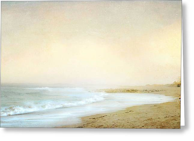 Greeting Card featuring the photograph Surf Casters by Karen Lynch