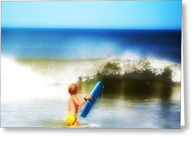 Surfer Boy Greeting Card