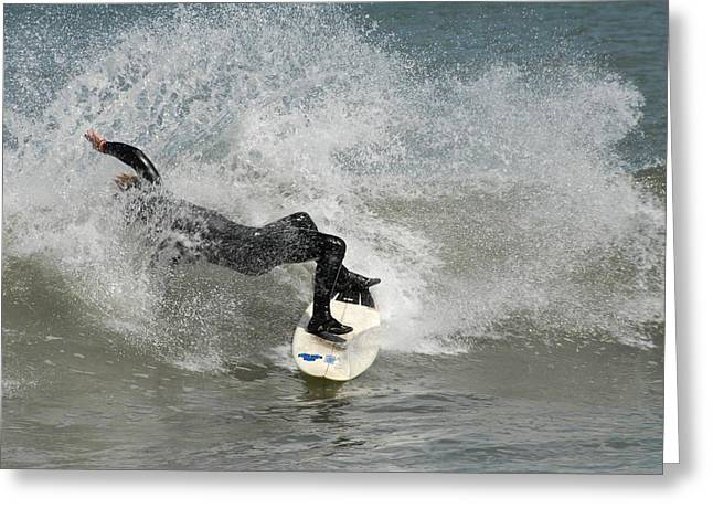 Surfing 396 Greeting Card