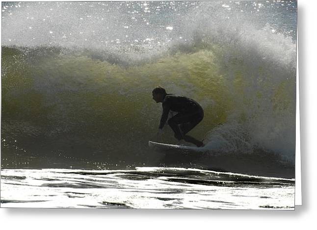 Surfing 400 Greeting Card