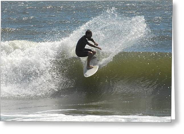 Surfing 417 Greeting Card