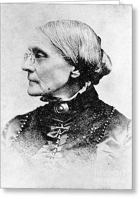Susan B. Anthony, American Civil Rights Greeting Card