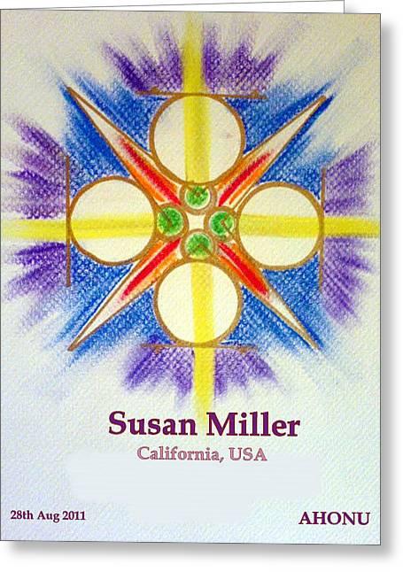 Susan Miller Greeting Card