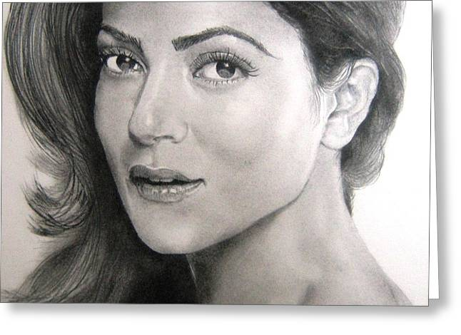 Sushmita Sen Greeting Card