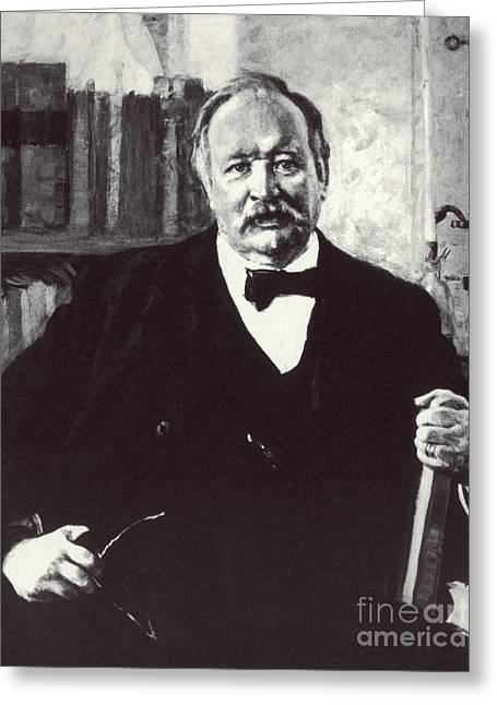 Svante Arrhenius, Swedish Chemist Greeting Card