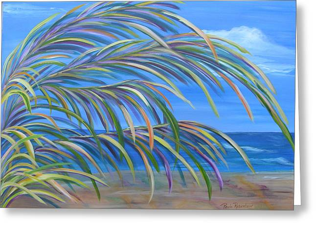 Swaying In The Breeze Greeting Card