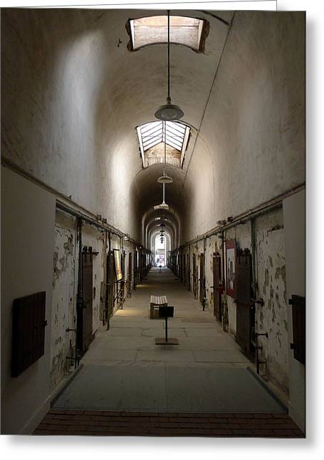 Greeting Card featuring the photograph Sweet Home Penitentiary II by Richard Reeve