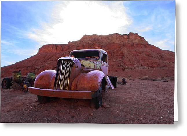Greeting Card featuring the photograph Sweet Ride by Susan Rovira
