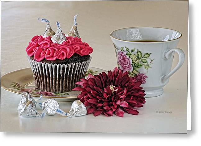Sweet Treats Greeting Card by Kenny Francis