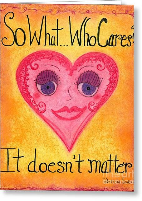 Sweetie037 Artwithheart.com Greeting Card by Patricia 'Amber' Sorenson