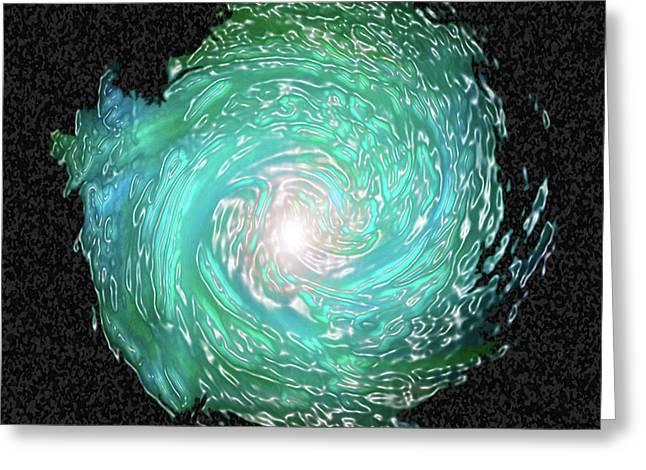 Swirled Greeting Card