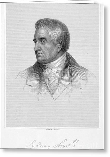 Sydney Smith (1771-1845) Greeting Card by Granger