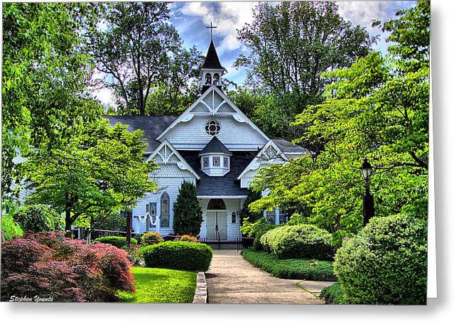 Sykesville Church Greeting Card by Stephen Younts