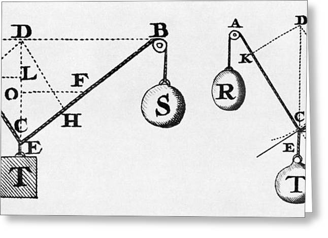 Symbol Language Of Statics Greeting Card by Science Source