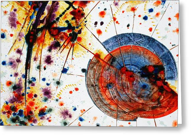 Symphony - Seven Greeting Card by Mudrow S