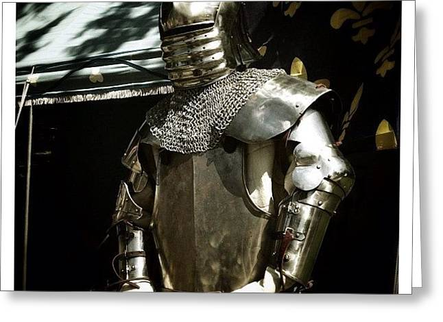 Syttende Mai Suit Of Armor Greeting Card