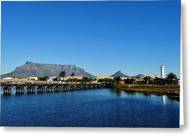 Greeting Card featuring the photograph Table Mountain by Werner Lehmann