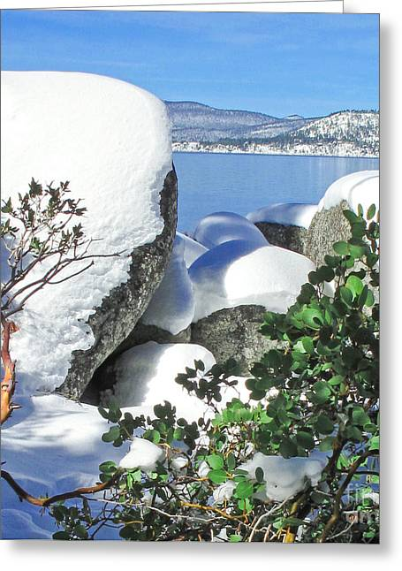 Tahoe Near And Far Greeting Card