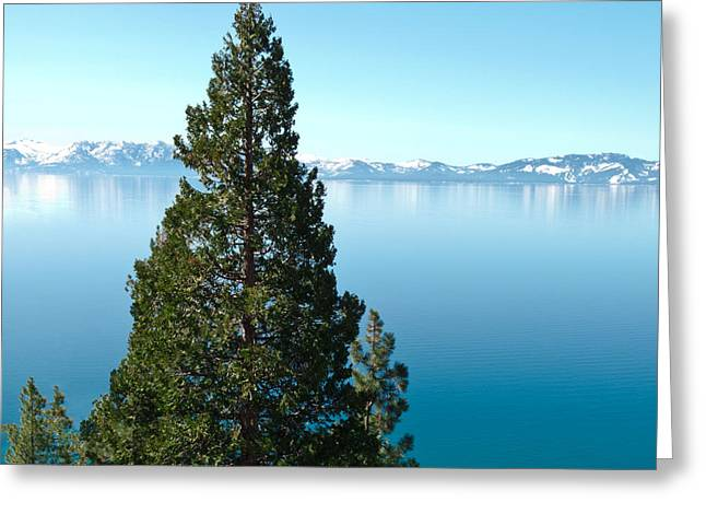 Tahoe Tranquility Greeting Card