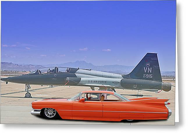 Tailfin Contest Greeting Card
