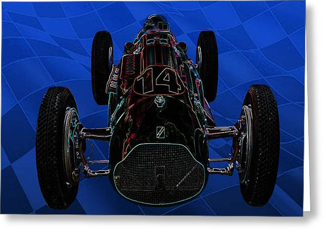 Talbot Lago T26c Body 110054 Greeting Card by Mike  Capone