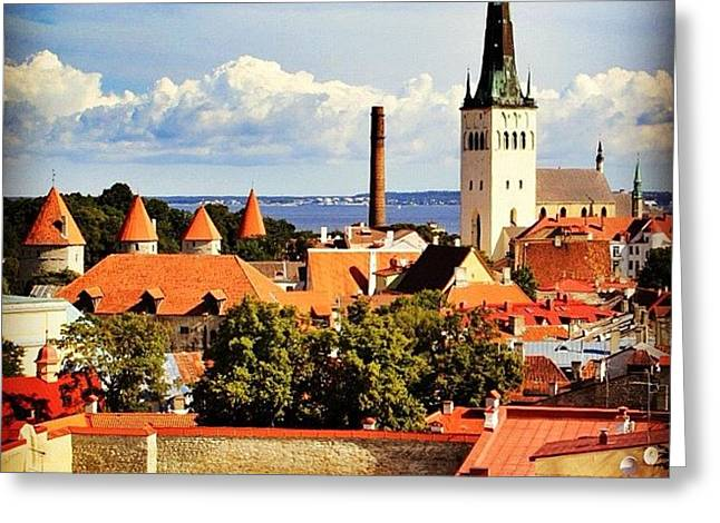 Tallinn - Estonia Greeting Card