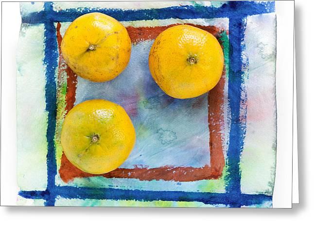 Tangerines  Greeting Card