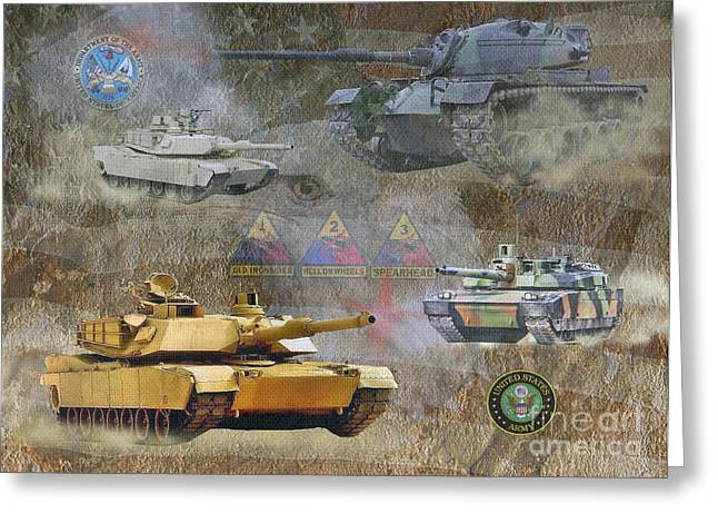 Tanks For You    Greeting Card by Ken Frischkorn