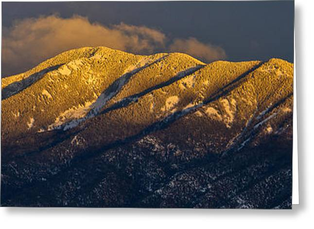 Taos Mountain Greeting Card