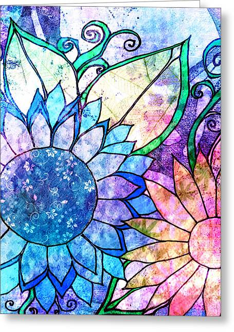 Tapestry 33 Greeting Card by Robin Mead
