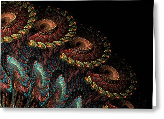 Tapestry Greeting Card by Kathleen Holley