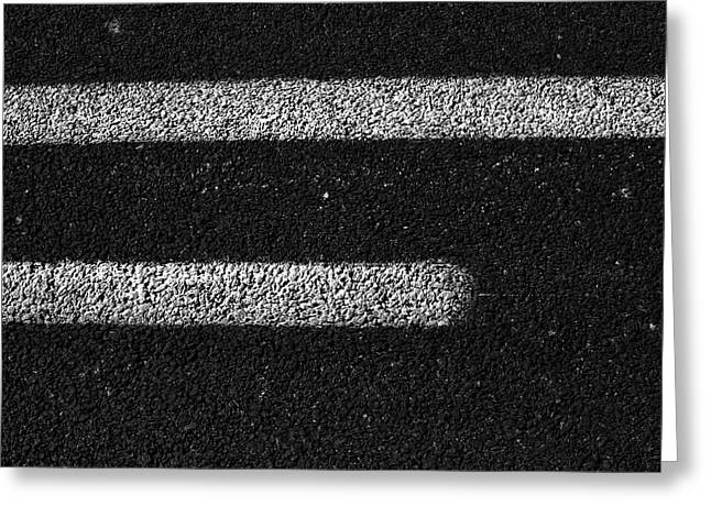 Tarmac Lines Greeting Card