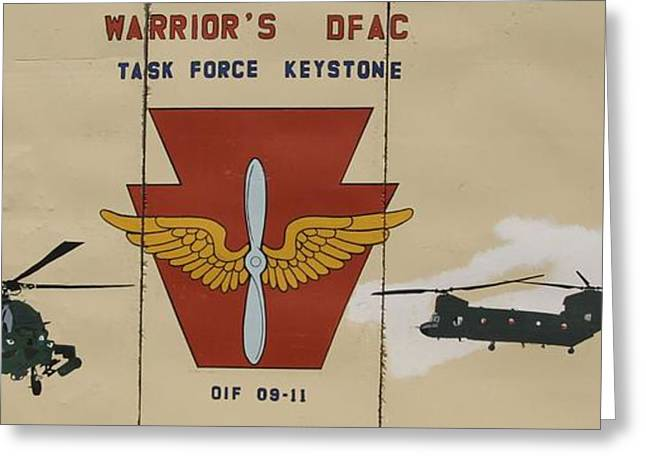 Task Force Keystone Greeting Card by Unknown