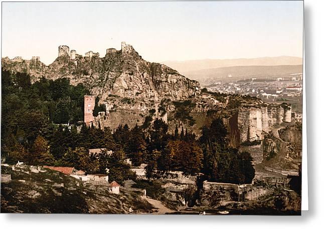 Tbilisi  Georgia - Botanical Gardens Greeting Card by International  Images