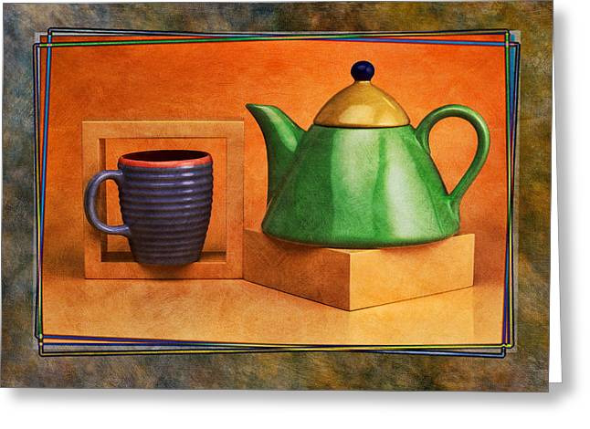 Tea  Greeting Card by Mauro Celotti